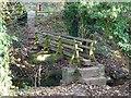 SK4234 : Footbridge over Ock Brook by Ian Calderwood