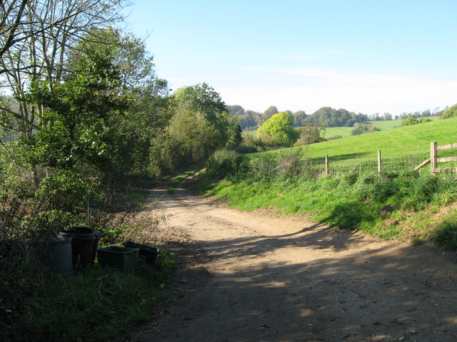 Down Hill to Slad - Painswick, Gloucestershire