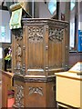 SJ9295 : St Lawrence's pulpit by Gerald England