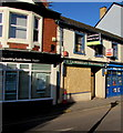 ST3088 : Boarded-up vacant shop, 15 Baneswell Road, Newport by Jaggery