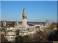 ST1876 : Civic Centre from Cardiff Castle by Dylan Moore