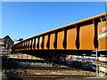 ST3088 : South side of the new railway bridge, Bridge Street, Newport by Jaggery