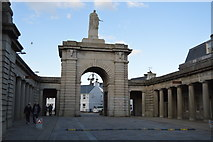 SX4653 : Main Gate, Royal William Yard by N Chadwick