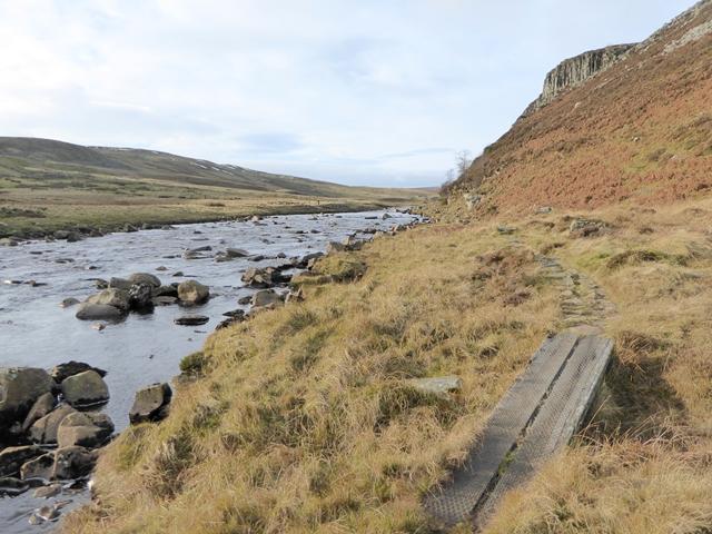 Pennine Way beside the River Tees