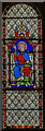 SK8572 : Stained glass window, St Helen's church, Thorney by Julian P Guffogg