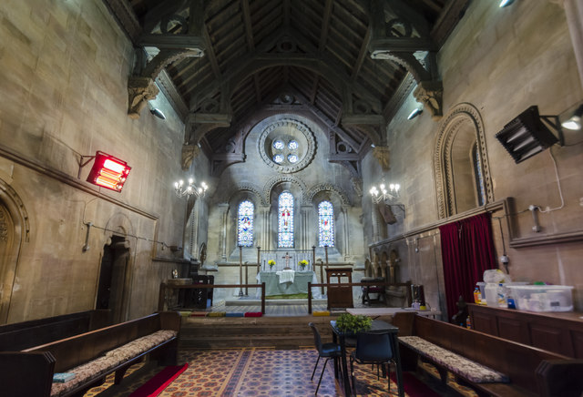 Chancel, St Helen's church, Thorney