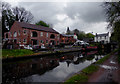 SO8898 : Canal at Compton, Wolverhampton by Roger  Kidd