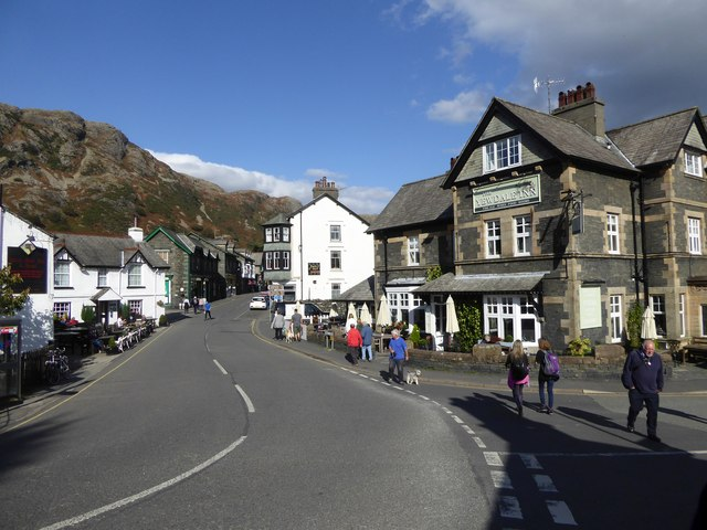 The Black Bull and Yewdale inns, Coniston