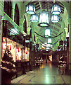 TG2308 : Christmas decorations in the Royal Arcade by Evelyn Simak