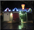 TG2208 : Christmas decorations at the Market Place by Evelyn Simak