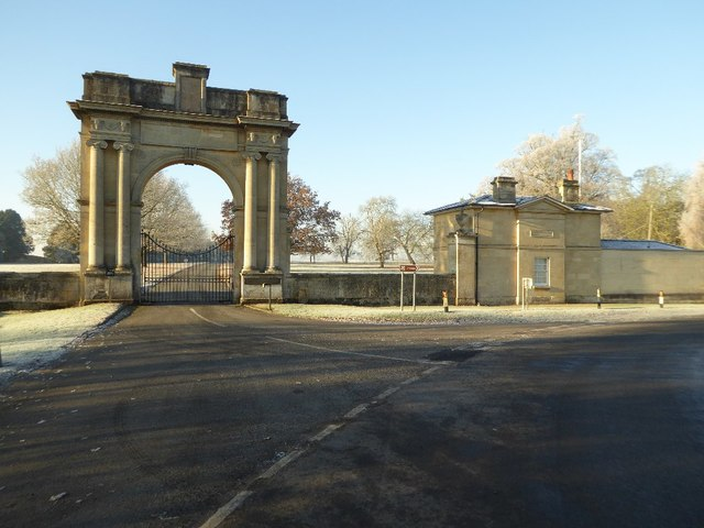 London Arch, Croome Park