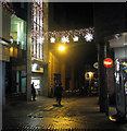 TG2308 : Christmas lights in Norwich city centre by Evelyn Simak