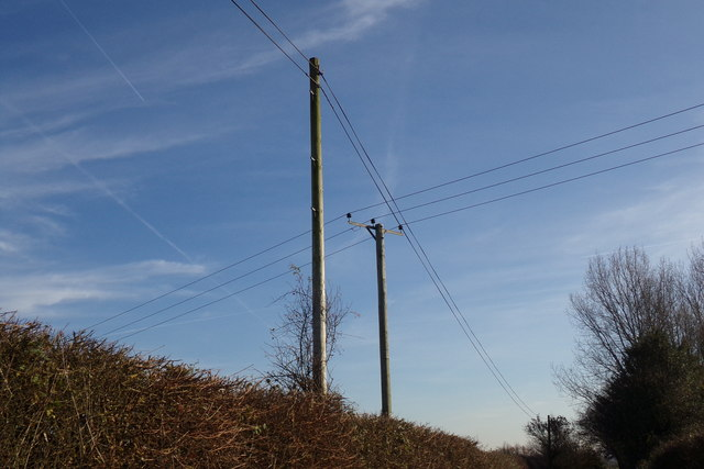 Electricity Poles on Kerdiston Road