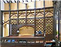 SJ9295 : Chancel Screen by Gerald England