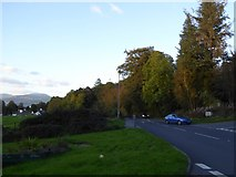 SD4095 : A5074 south of Bowness-on-Windermere by David Smith