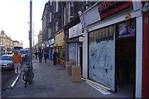 NT2674 : Shops, Leith Walk by Richard Webb
