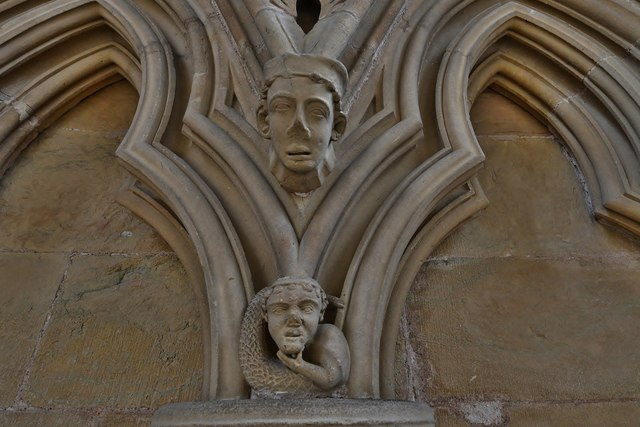 Southwell Minster: Late c13th Decorated carving in the chapter house 3