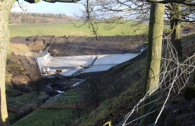 New flood defence works - Skipton