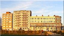 TQ2704 : Walsingham Terrace, Kingsway, Aldrington, Hove by Simon Carey