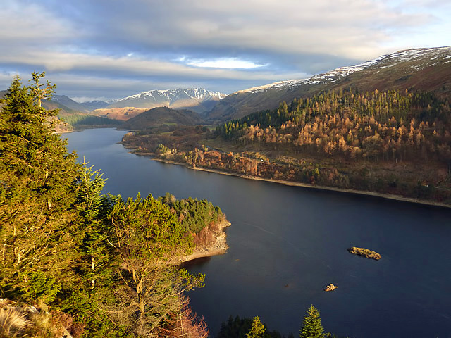 Thirlmere Reservoir from Rough Crag