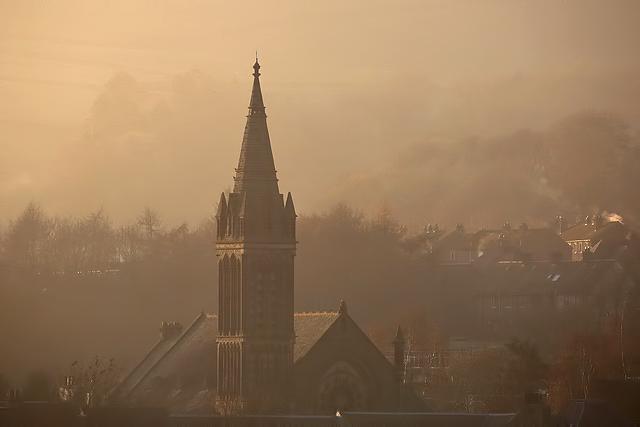 St Aidan's Church steeple