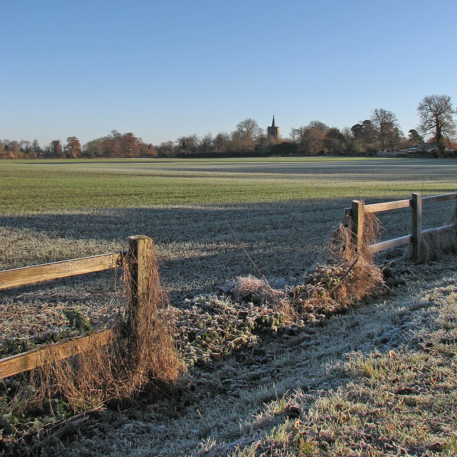 Whittlesford: a frosty morning