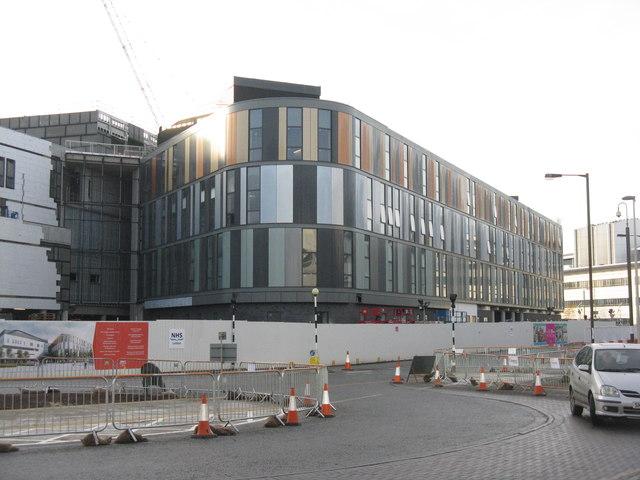 New hospital building at Edinburgh Royal Infirmary