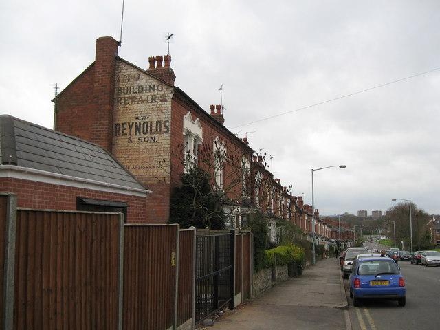 Harborne ghost sign - Birmingham