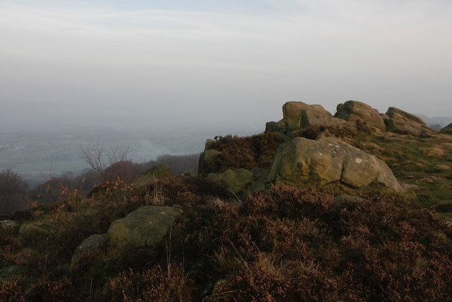 Rock Outcrop at The Chevin