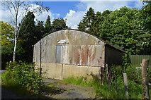 TQ5245 : Corrugated Iron barn, Moorden Farm by N Chadwick