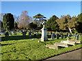 TM0242 : Hadleigh cemetery by Adrian S Pye