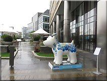 NZ2463 : Great North Snowdog Fear of Emptiness, Crowne Plaza Hotel, Newcastle upon Tyne by Graham Robson