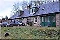 NN5588 : Estate cottage, Gallovie by Jim Barton