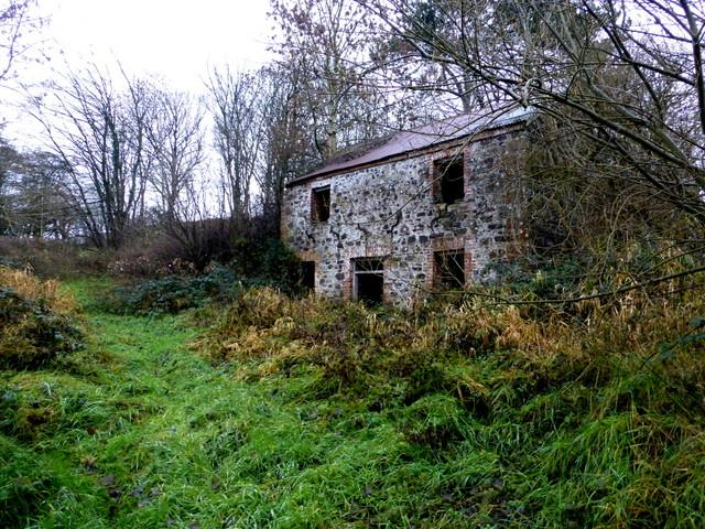 Ruined corn mill, Bracky