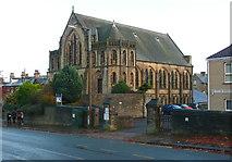 SE0824 : United Reformed Church, Free School Lane, Skircoat, Halifax by Humphrey Bolton