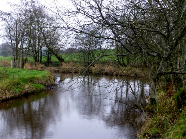 A bend on the Camowen River