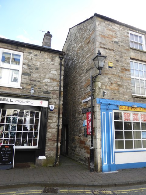 The end of Salt Pie Lane, Kirkby Lonsdale