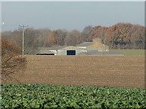 TG0723 : Farm Buildings at Brick Kiln Farm by Adrian Cable