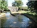 SJ5139 : Overflow weir, west of Bridge 37, Llangollen Canal by Christine Johnstone