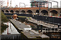 TQ2884 : Regent's Canal at Camden Town by Julian Osley