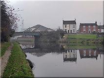 SE5023 : Cow Lane Bridge over the Aire & Calder Navigation by Chris Allen