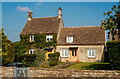 ST8082 : Cottages, Old Down Rd, Badminton, Gloucestershire 2011 by Ray Bird