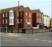 ST3049 : College Court flats, Burnham-on-Sea by Jaggery