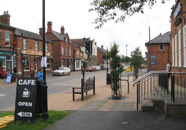 Corvedale Road view west - Craven Arms, Shropshire