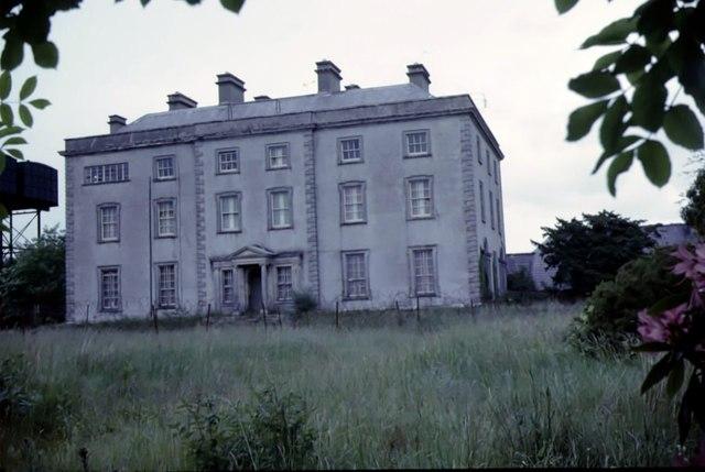 Derelict Castle Archdale House 1963