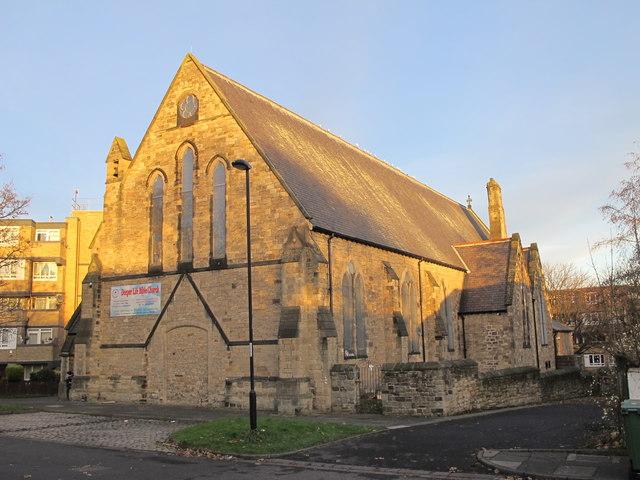 The Church of St. Philip, St. Philip's Close, NE4