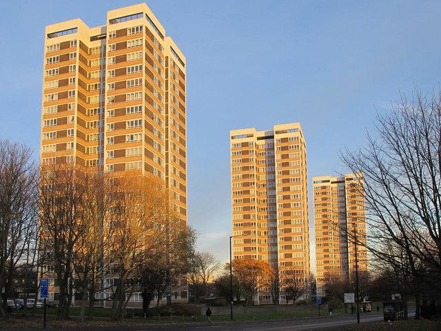 Vallum Court, Westgate Court and Todd's Nook, Westgate Road, NE4