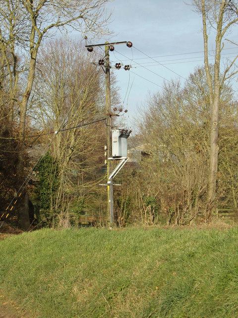 Electricity Pole off Kerdiston Road