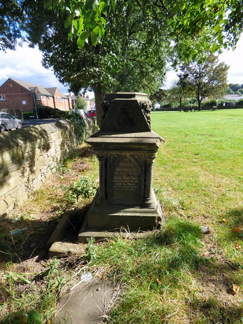 The James Saxton Tomb