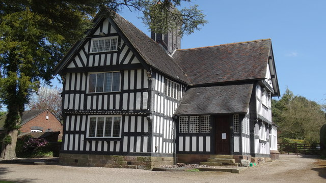 Old Hall at Madeley, Staffs